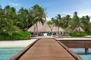 The swimming pool at or near W Maldives