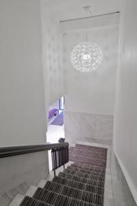 En eller flere senger på et rom på Basic Hotel Bergen