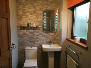 A bathroom at B&B Kilcamb
