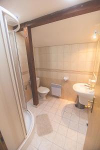 Kúpeľňa v ubytovaní Penzion Moyzes