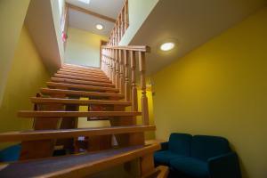 Lobby alebo recepcia v ubytovaní Penzion Moyzes