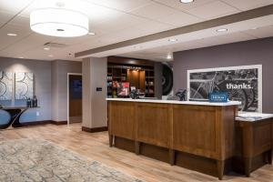 The lobby or reception area at Hampton Inn & Suites St. George