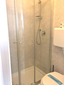 A bathroom at Hotel Ausonia