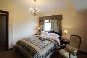 Un ou plusieurs lits dans un hébergement de l'établissement Sleepy Hollow B&B