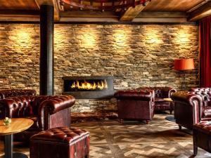 Lobby/Rezeption in der Unterkunft Hotel Grauer Bär