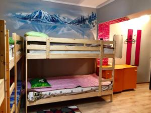 A bunk bed or bunk beds in a room at Hostel Loco