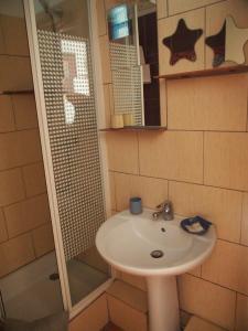 A bathroom at Hotel Wilson