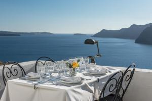 Majoituspaikan Fanari Villas ravintola tai vastaava paikka