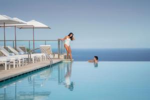 Der Swimmingpool an oder in der Nähe von Jumeirah Port Soller Hotel & Spa