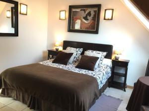 Un ou plusieurs lits dans un hébergement de l'établissement Villa Boréas