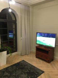 Telewizja i/lub zestaw kina domowego w obiekcie Apartamenty Platinum Loft