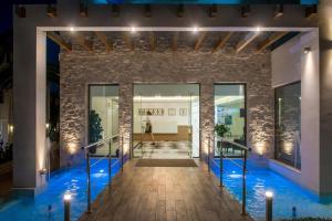 The swimming pool at or near Cretan Beach Resort