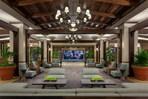 The lobby or reception area at Marriott Myrtle Beach Resort & Spa at Grande Dunes
