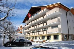 Hotel Crystal during the winter