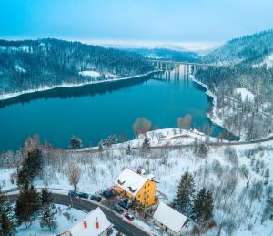 Villa MOYA during the winter