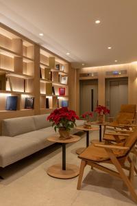Zona de estar de Apart-hotel Serrano Recoletos