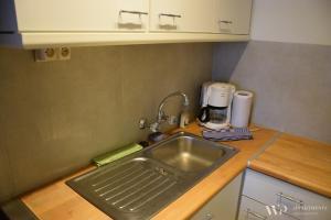 Küche/Küchenzeile in der Unterkunft Appartement Lucia, 8ste verdieping