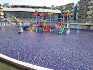 Children's play area at Bay Park Hotel Resort