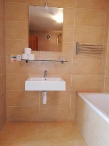 Kúpeľňa v ubytovaní Hotel Klar