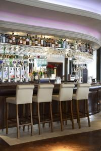 The lounge or bar area at The Rutland Hotel & Apartments