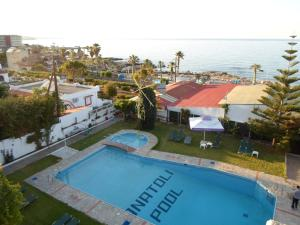 A view of the pool at Anatoli Apartments or nearby