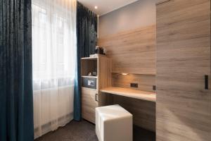 A bathroom at Hotel dasPaul