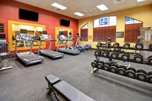 The fitness center and/or fitness facilities at Homewood Suites by Hilton Boise