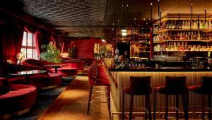 Lounge oder Bar in der Unterkunft Provocateur Berlin