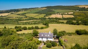 A bird's-eye view of The Old School House Cottage