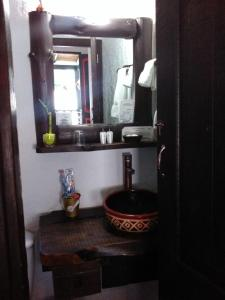 A bathroom at Samay Boutique Hotel