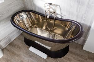 A bathroom at Stoberry House
