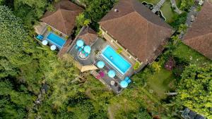 A bird's-eye view of Villa Kalisat