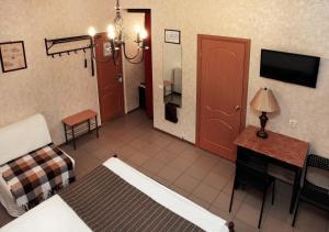 Ванная комната в Гостиница Пятый Океан
