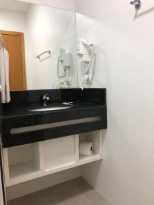 A bathroom at Hotel Matrix