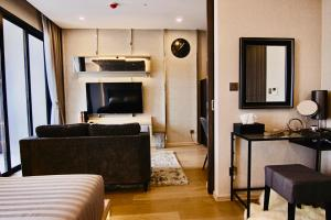 A seating area at Luxurious & Romantic in the Heart of BKK. MRT/BTS!