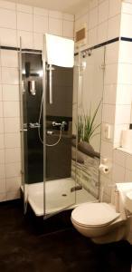 Ein Badezimmer in der Unterkunft Art-Hotel Erlangen