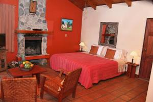 A bed or beds in a room at Chalet Orosi