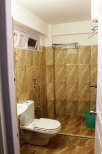 A bathroom at Hotel Paradiso