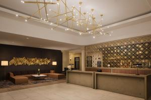 The lobby or reception area at Embassy Suites San Francisco Airport - South San Francisco