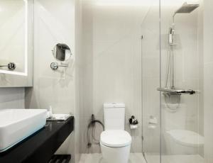 A bathroom at Chanalai Garden Resort, Kata Beach - SHA Plus