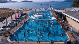 Vista de la piscina de Camping Bayona Playa o alrededores