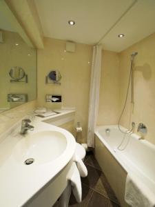 A bathroom at Hotel Kraft