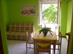 Posezení v ubytování Residenza Grecale