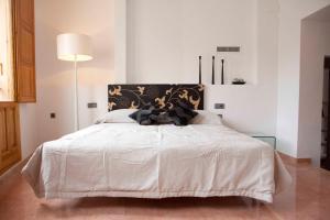 Cama o camas de una habitación en Happy Apartments Valencia – Lope de Vega