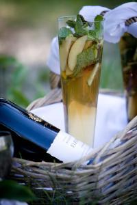 Drinks at Royal Chundu Island Lodge