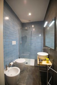 A bathroom at Quattro Briganti