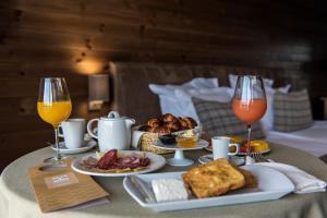 Налични за гости опции за закуска в Катарино СПА Хотел