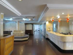 The lobby or reception area at Sea View Resort Hotel & Apartments