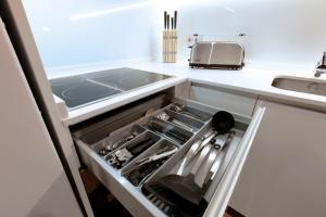 Una cocina o zona de cocina en Chueca Exclusive by Madflats Collection