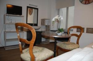 Ein Sitzbereich in der Unterkunft Hotel Zak Schaffhausen